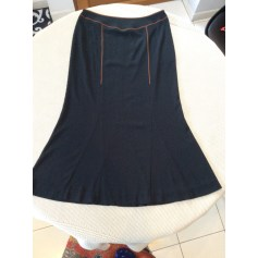 Jupe longue Bleu Blanc Rouge  pas cher