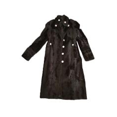 Manteau en fourrure Karen Millen  pas cher