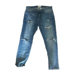 Jeans large, boyfriend Current/Elliott  pas cher