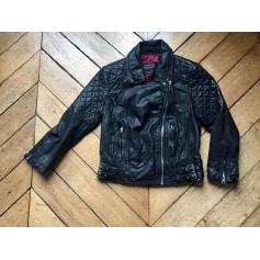 Leather Zipped Jacket All Saints
