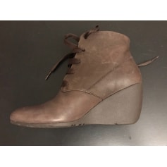 Bottines & low boots plates Camper  pas cher