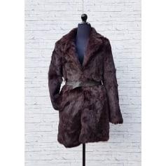Manteau en fourrure 1.2.3  pas cher