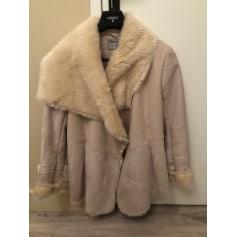 Manteau en fourrure Bershka  pas cher