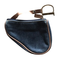 Porte-monnaie Dior Saddle pas cher