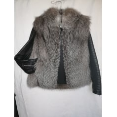 Manteau en fourrure BABOON'S  pas cher