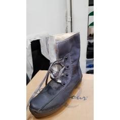 Bottines & low boots plates Manas  pas cher