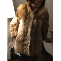 Manteau en fourrure Giorgio Mobiani  pas cher