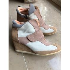 Bottines & low boots à compensés Promod  pas cher