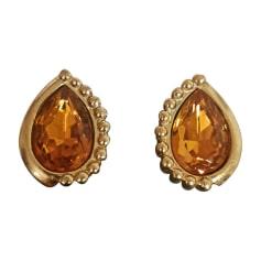 Boucles d'oreilles Dior  pas cher