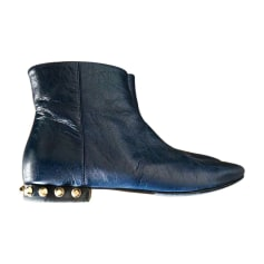 Bottines & low boots plates Balenciaga  pas cher