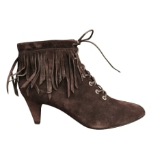High Heel Ankle Boots Maje