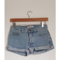 Short en jean American Apparel  pas cher