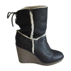 Bottines & low boots à compensés Moncler  pas cher