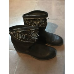 Bottines & low boots plates Metisse  pas cher