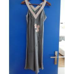 Robe mi-longue Benetton  pas cher