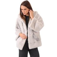 Manteau en fourrure Sagafeerique  pas cher