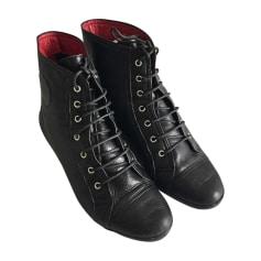 Bottines & low boots plates Céline  pas cher