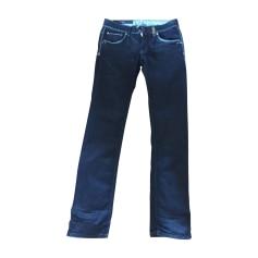 Jeans droit High  pas cher