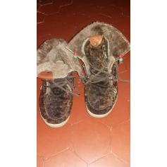 Bottines & low boots plates Dolfie  pas cher