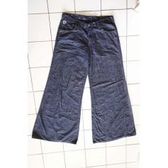 Jeans très evasé, patte d'éléphant Lois  pas cher