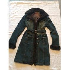 Manteau en jean Lulu Castagnette  pas cher