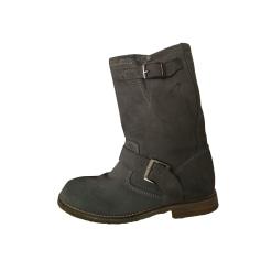 Bottines & low boots plates Pastelle  pas cher