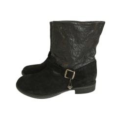 Bottines & low boots plates Twin-Set Simona Barbieri  pas cher