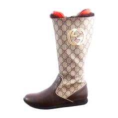 Flache Stiefel Gucci