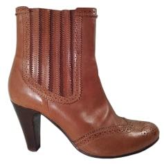 Bottines & low boots à talons Taupage  pas cher
