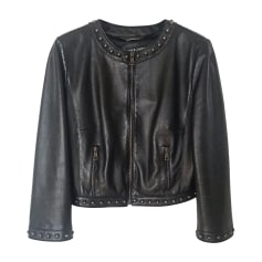 Veste en cuir Dolce & Gabbana  pas cher