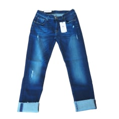 Jeans large, boyfriend 7 For All Mankind  pas cher