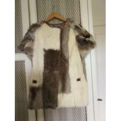 Manteau en fourrure GOES  pas cher