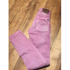 Straight Leg Pants Pull & Bear
