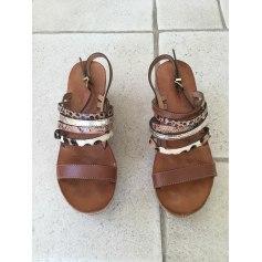 Sandales compensées Les Tropéziennes Par M. Belarbi  pas cher