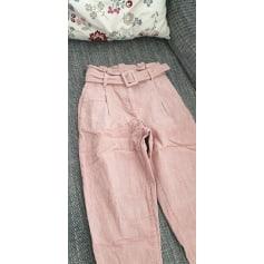 Pantalon carotte Vero Moda  pas cher