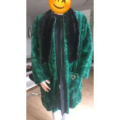 Manteau en fourrure Yves Saint Laurent Downtown pas cher