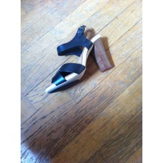 Sandales à talons Laura Clément  pas cher
