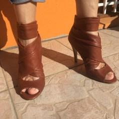 Sandales à talons 3 Suisses  pas cher
