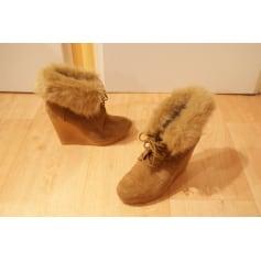 Bottines & low boots à compensés Bershka  pas cher
