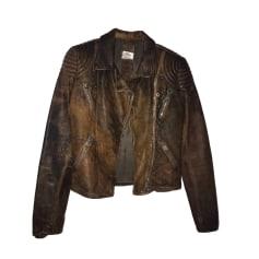 Veste en cuir Gas Bijoux  pas cher