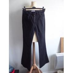 Jeans très evasé, patte d'éléphant Zapa  pas cher