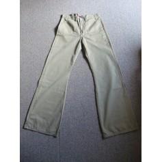 Pantalon très evasé, patte d'éléphant Ober  pas cher