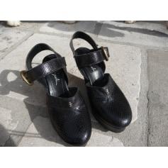 Sandales compensées Henri Béguelin  pas cher
