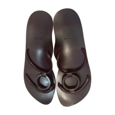 Sandales plates  Bally  pas cher