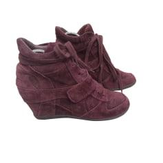 Bottines & low boots à compensés Ash  pas cher
