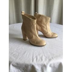Bottines & low boots à talons Jean-Louis Scherrer  pas cher