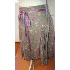 Jupe mi-longue Chattawak  pas cher