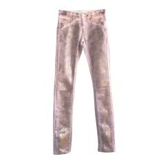 Pantalon slim, cigarette 75 Faubourg  pas cher