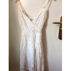 Robe mi-longue Abercrombie & Fitch  pas cher