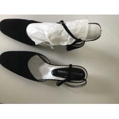 Sandales à talons Charles Jourdan  pas cher